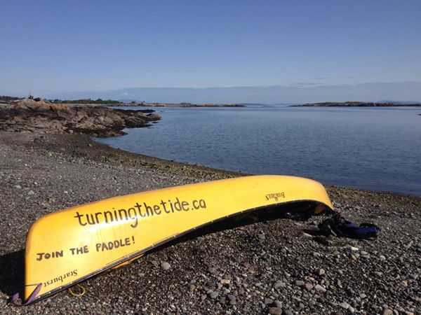 Join Turning the Tide, A Peoples' Paddle for the Salish Sea, July 25-28, 2014!