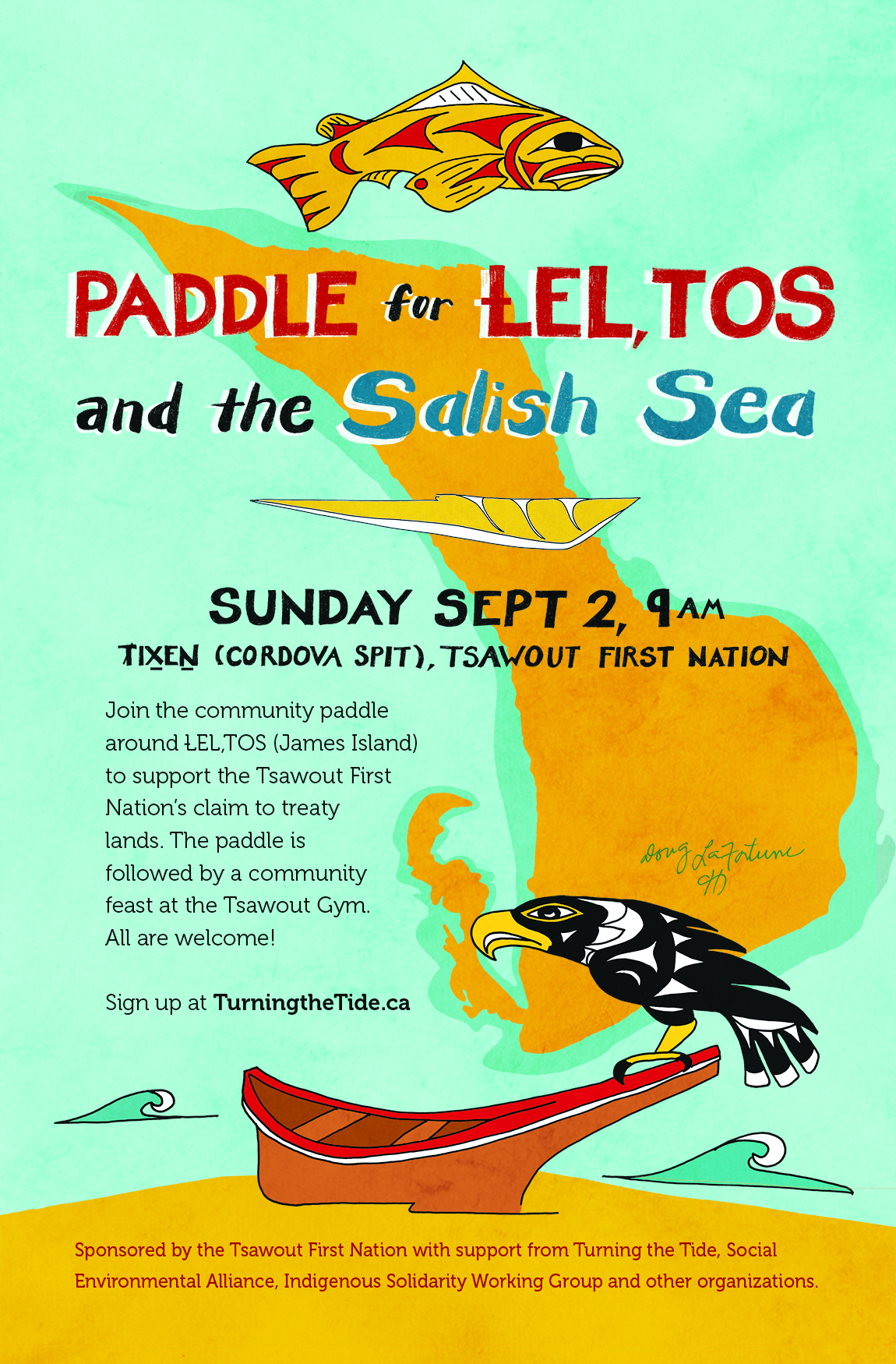 Poster for LEL,TOS Paddle